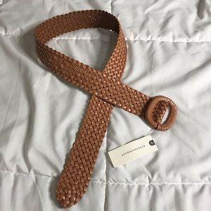 NWT Anthropologie woven belt size M